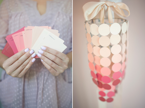 Cool DIY Crafts Made With Paint Swatches