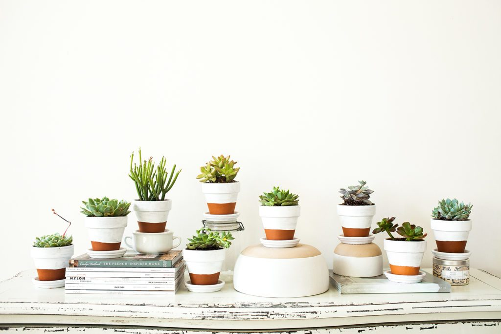 Cool Homemade Painted Flower Pot Ideas