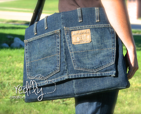 Turn Your Ripped Jeans Into A Purse Tutorials