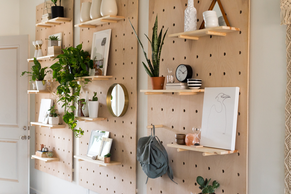Cool DIY Pegboards