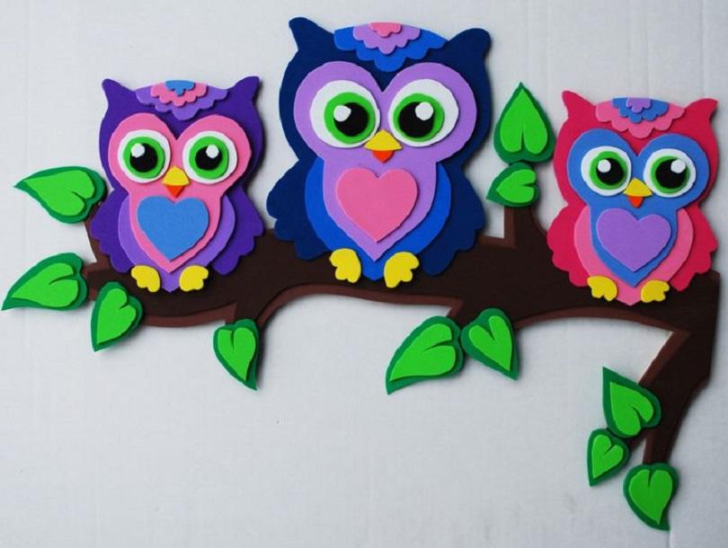 Cool Foam Paper Crafts