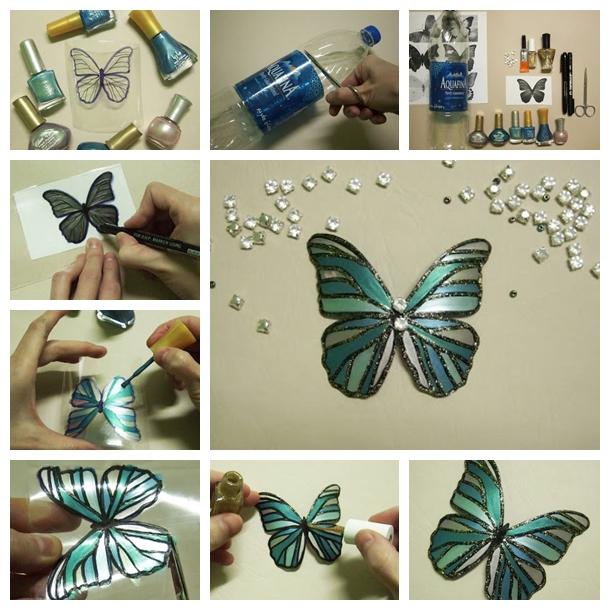 DIY Pretty Butterfly Chandelier Mobile
