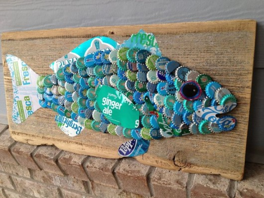 Awesome Crafts Made With Bottle Caps