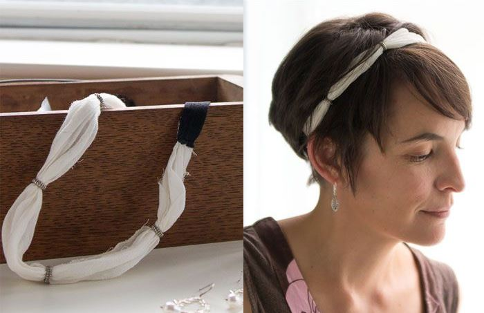 Amazing DIY Short Hair Accessories