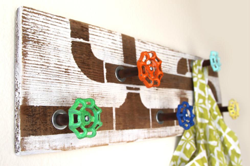 Unique DIY Hooks and Hangers