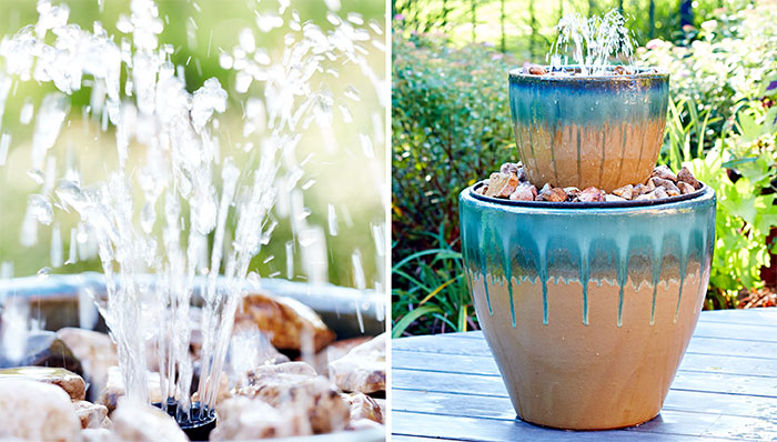 Awesome DIY Water Fountains