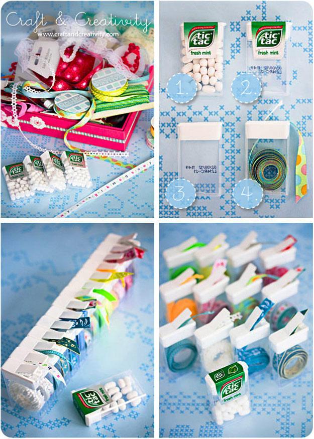 Amazing craft storage ideas 12 tic tac case ribbon organizer solutioingenieria Gallery