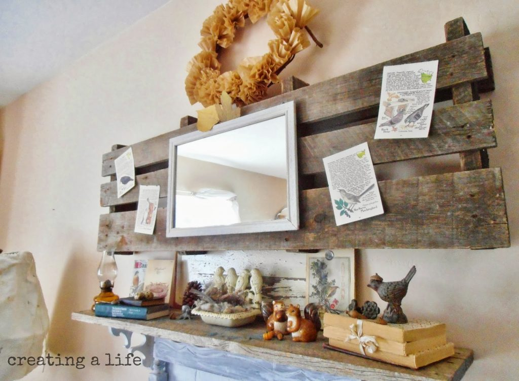 Awesome Fall Projects For Your Mantel