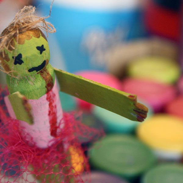 Awesome Zombie Themed Crafts for Kids