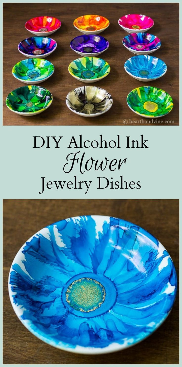 CheerCrankAwesome DIY Alcohol Ink Jewelry