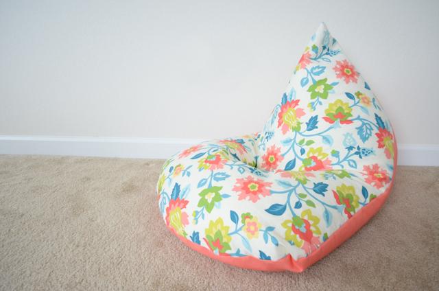 Stylish DIY Bean Bags