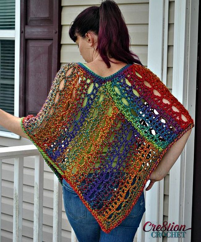 Free Crochet Poncho Patterns Best Crochet Poncho Pattern Ravelry