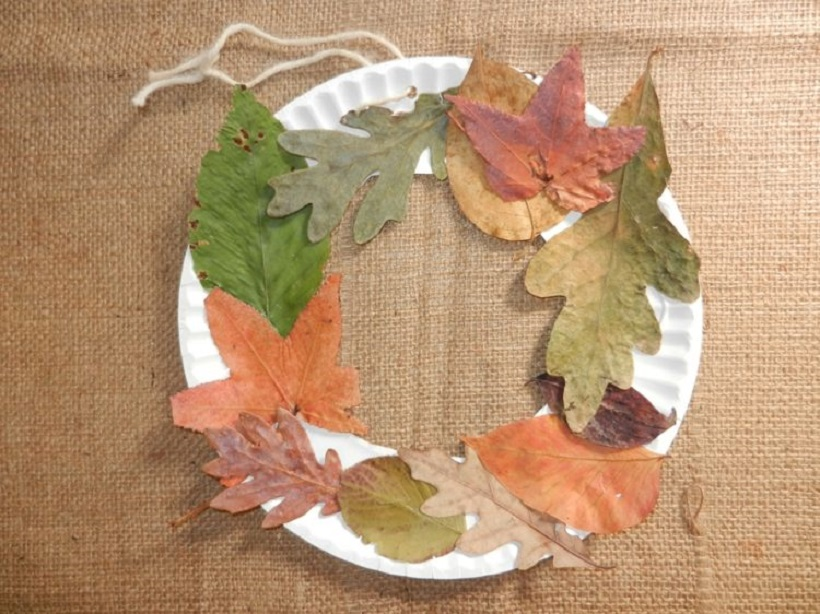Cool Crafts To Make With Leaves