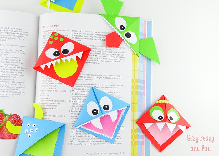 15 Unique DIY Bookmarks