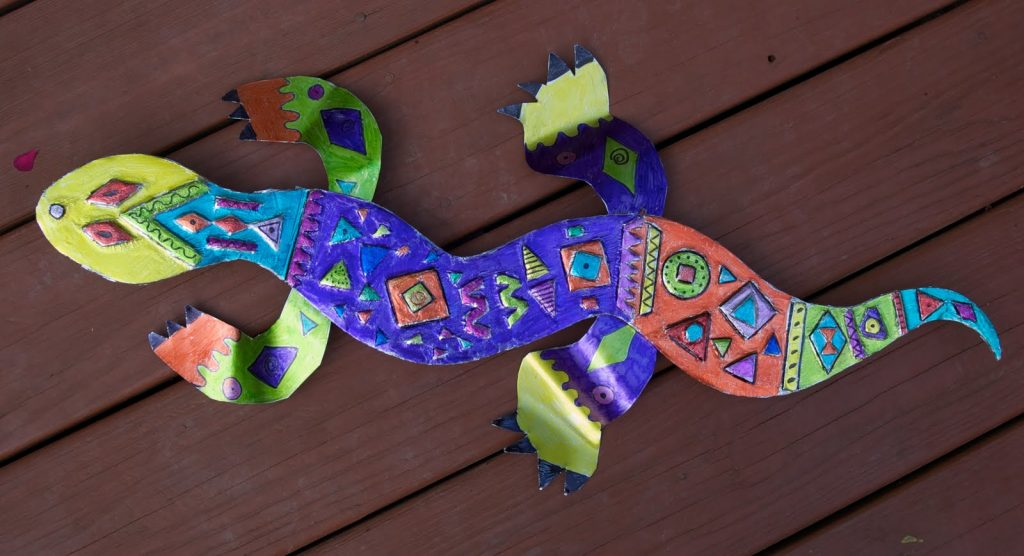 Amazing Lizard Themed DIY Projects