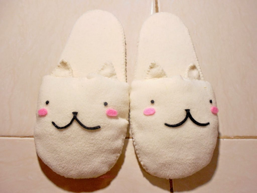 Awesome DIY Slippers