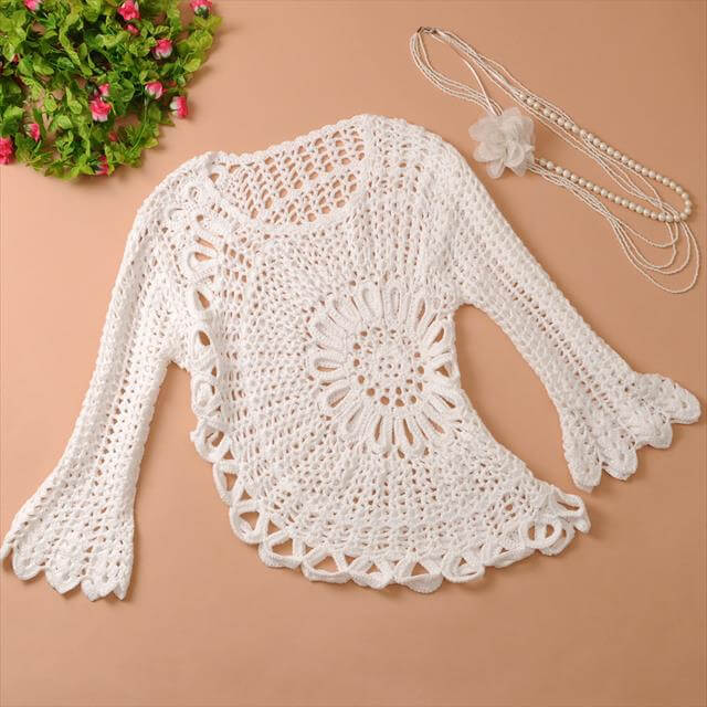 Amazing DIY Crochet Cardigan Sweater