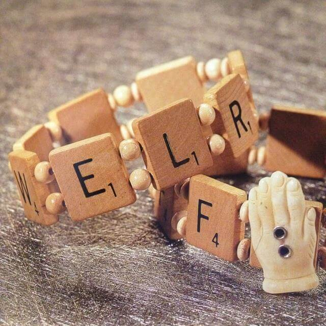 Cool And Fun DIY Projects Using Scrabble Pieces