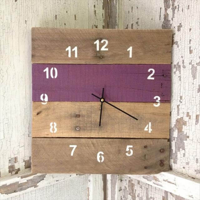 Cool And Easy DIY Wall Clock Ideas