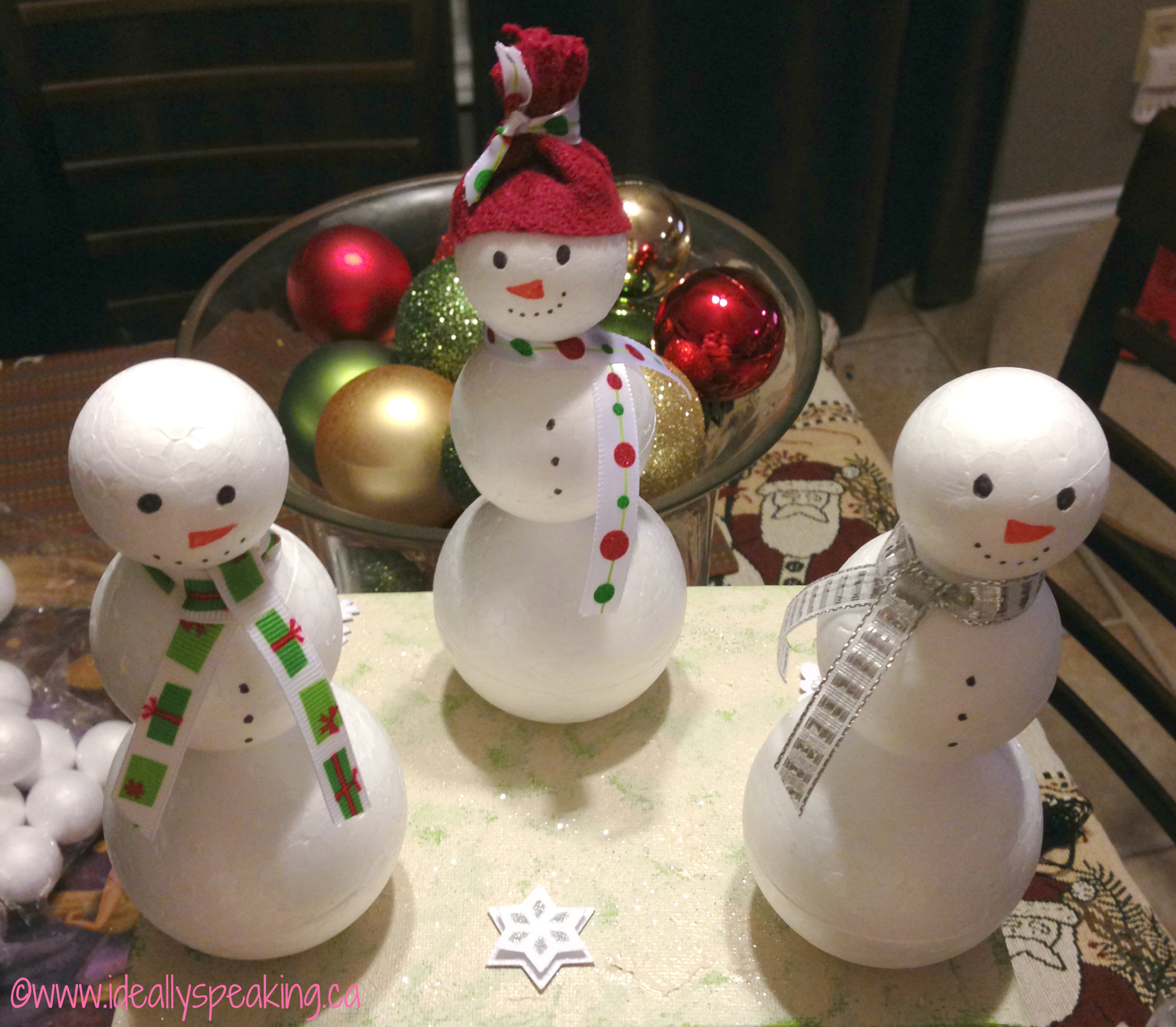 Awesome Snowman Crafts