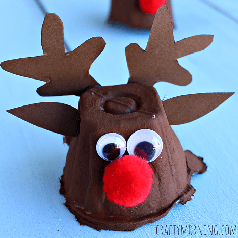 Cute Reindeer Themed Crafts For Kids