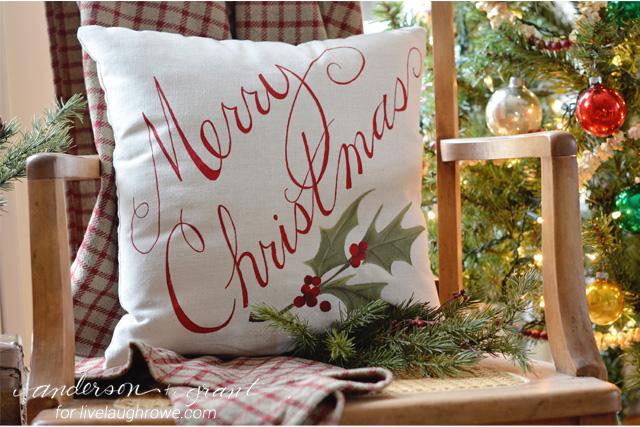 Awesome DIY Christmas Pillows