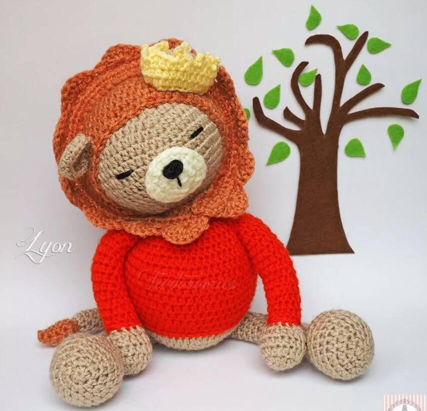 Amazing Crochet Lion Amigurumi Patterns