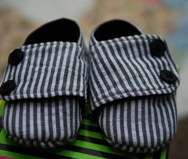 Awesome DIY Baby Shoes
