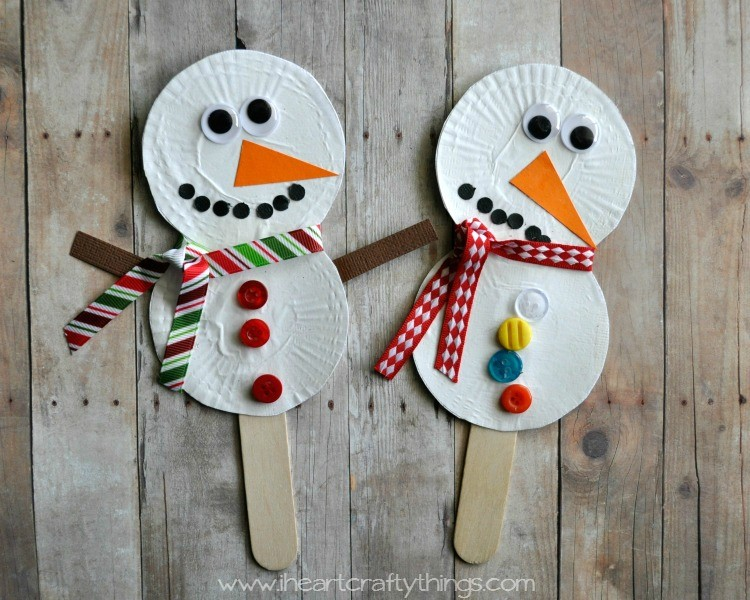 Adorable Snowman Crafts for Kids