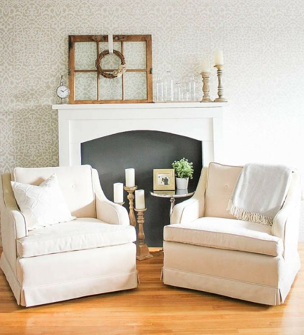 The Best DIY Faux Fireplaces