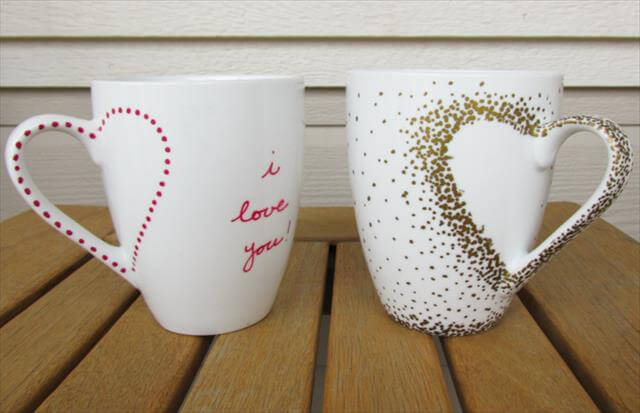 Amazing Dish And Mug DIY Designs