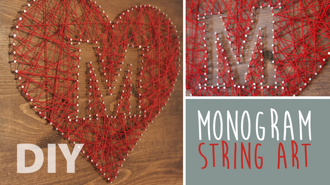 Diy String Art Crafts