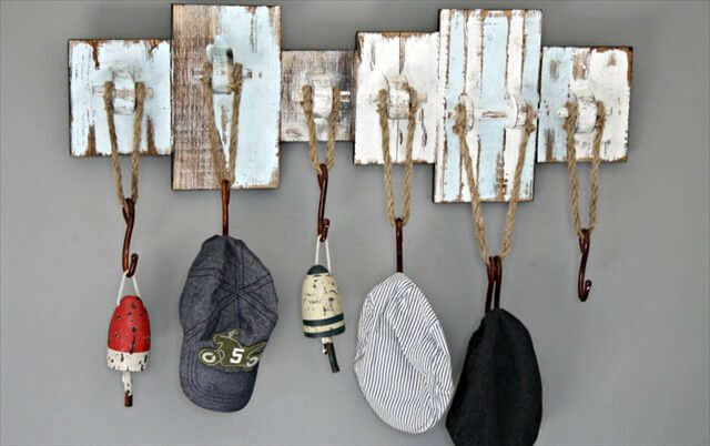 Awesome DIY Hat Racks