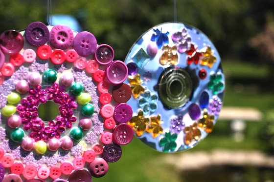 Creative Upcycled CD Crafts