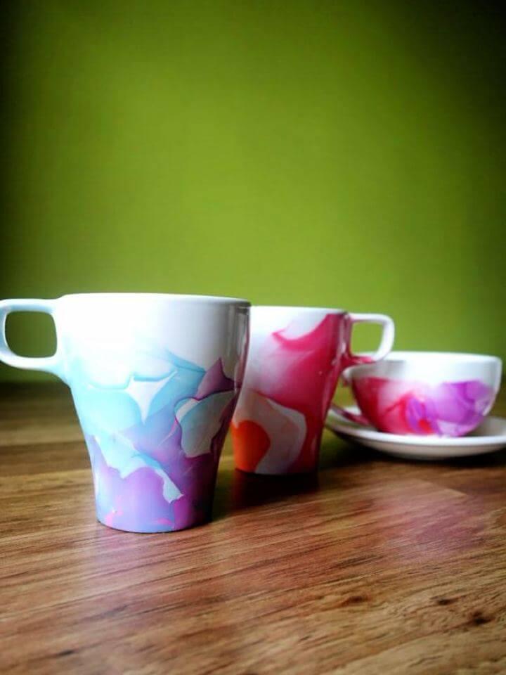 Amazing DIY Coffee Mug Design Ideas