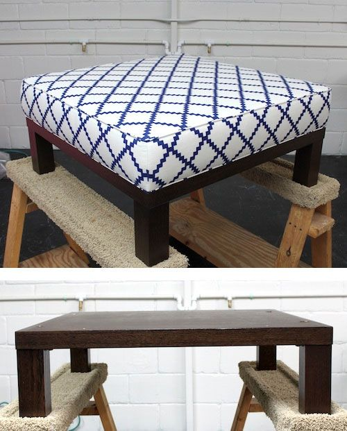 Cool Amazing Diy Ottoman Coffee Tables Machost Co Dining Chair Design Ideas Machostcouk