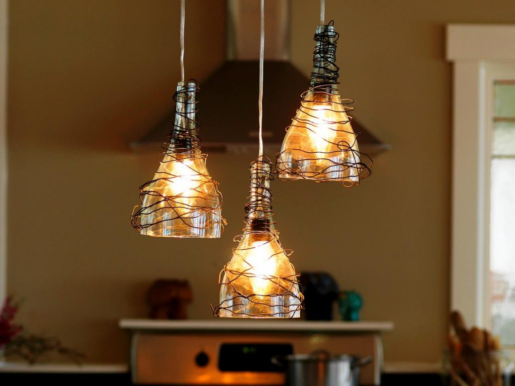 Unique DIY Pendant Lights