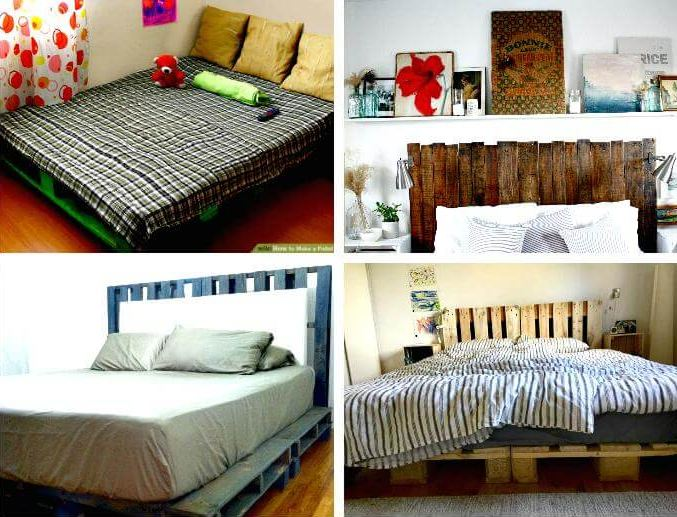 Amazing DIY Pallet Bed Frame Tutorials
