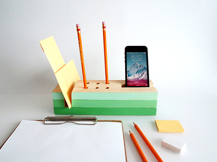Awesome DIY Desk Organizers