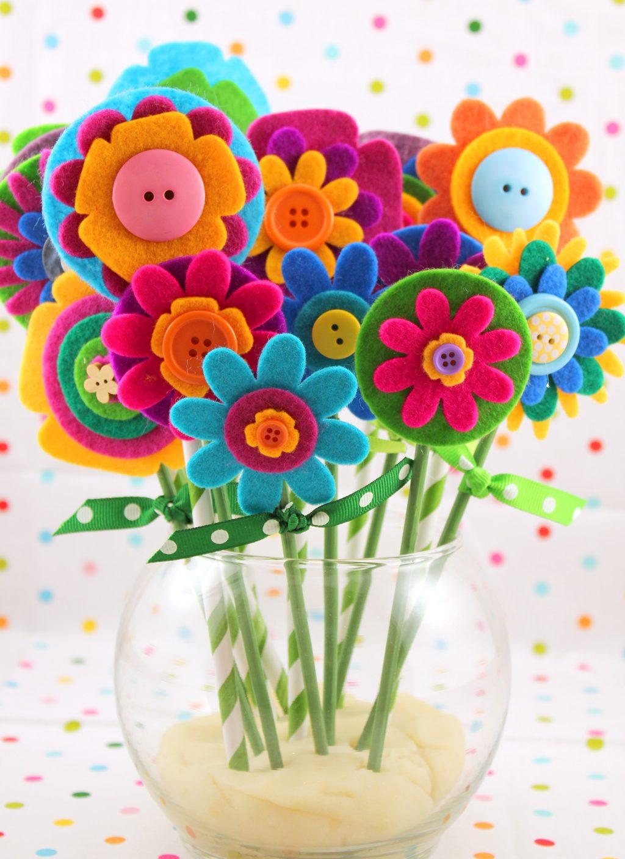 Unique Floral Kids' Crafts for Spring