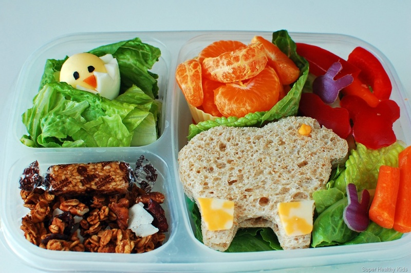 Delicious Easter School Lunch Ideas