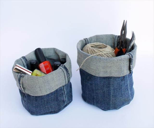 The Best DIY Old Blue Jean Ideas
