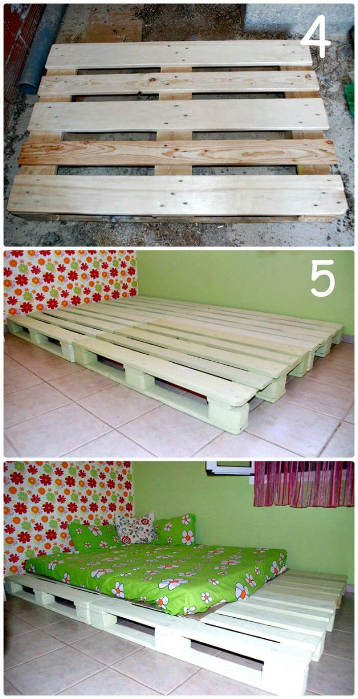 Amazing Diy Pallet Bed Frame Tutorials