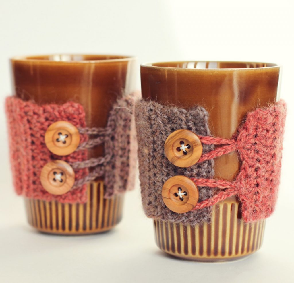 Awesome DIY Coffee Cup Cosy Patterns