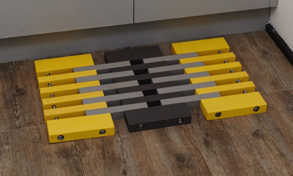13 Amazing DIY Floor Mats