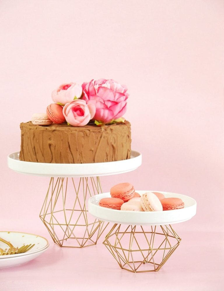 14 DIY Cake Stand Projects
