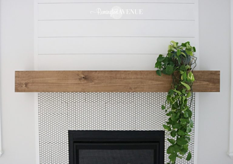 14 Diy Fireplace Mantels