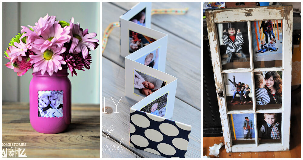 17 Cool DIY Picture Frame Ideas
