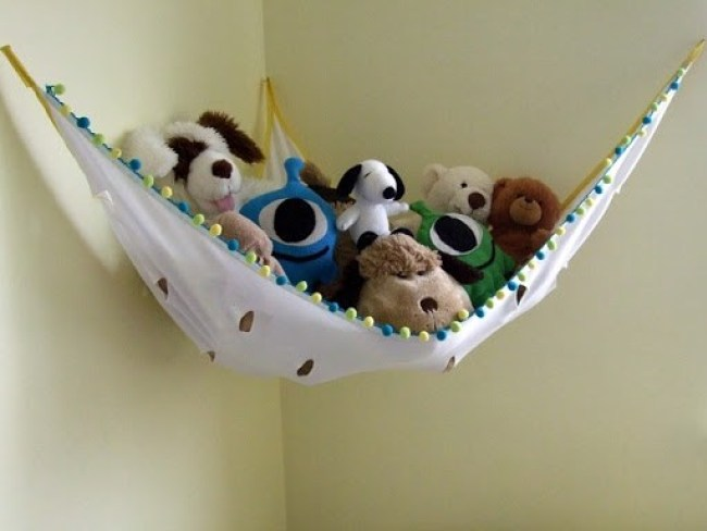 10 Ways To Store Stuffed Animals
