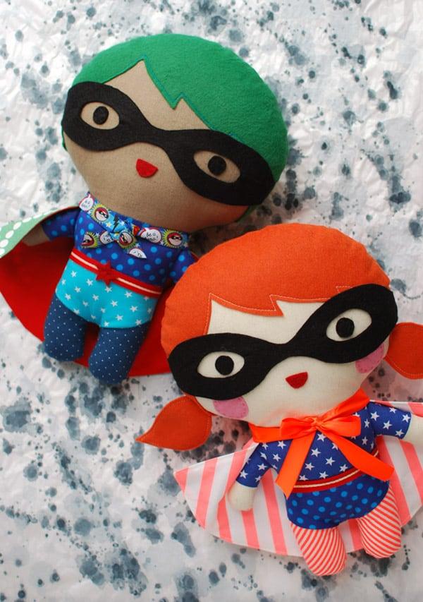 12 Cute DIY Plush Toys